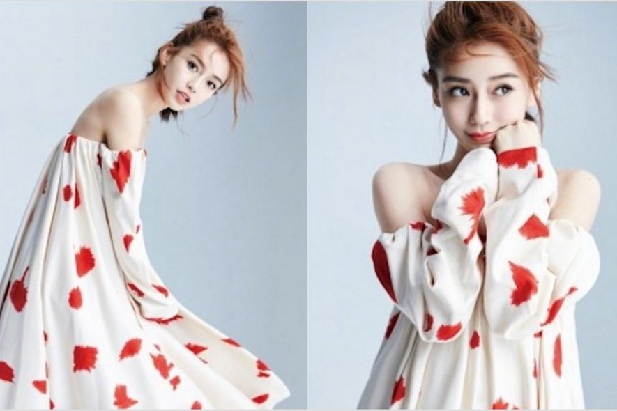 Angelababy,hairstyling