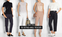 Ankle Pants, 9分褲, Fashion, 時裝, Online Shopping, Shopping, Street Style, Style Insight, Trend Reports